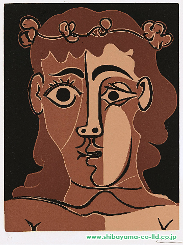 PabloPicassoJeunehommecouronnédefeuillage(BoywithaCrownofLeaves),1962