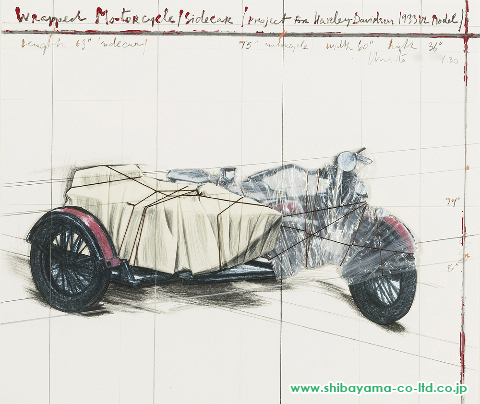 christo_WRAPPED_MOTORCYCLE_SIDECAR