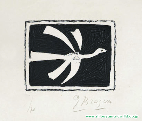 Georges Braque One plate, from Août