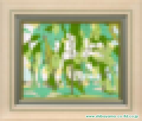 伊藤髟耳「またこの木に会いに来る」日本画6号