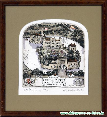 グラハム・クラーク「Home Sweet Home」s銅版画