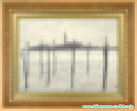 清水操「Bianco」日本画P12号