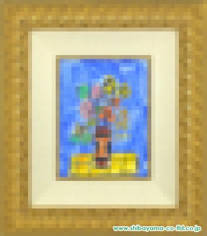 アイズピリ「ブルーバックの花」ガッシュ