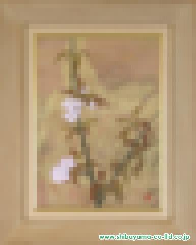 松井和弘「やまざくら」日本画P8号 (1)