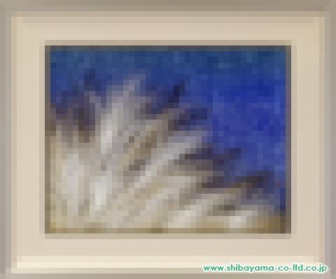 泉東臣「光の詩」s日本画10号