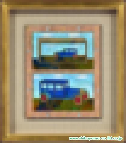 中本智絵「Blueciel」日本画3号