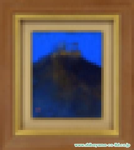 村上裕二「ギリシャの丘」日本画3号