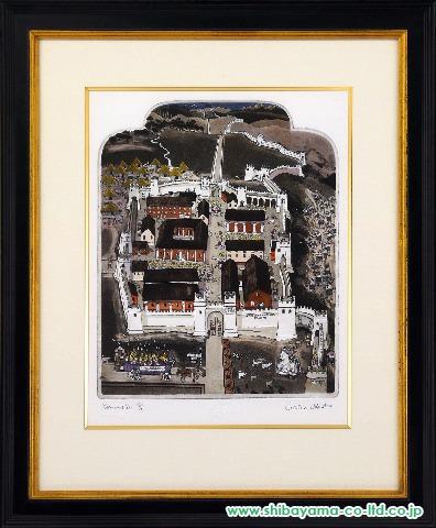 グラハム・クラーク「ROMANS DO」s銅版画+手彩