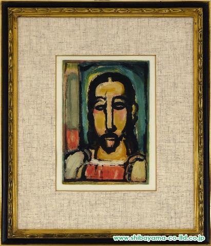 ルオー「悪の華(キリスト正面)」オーフォルト