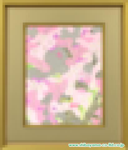 伊藤髟耳「はな・ゆらぐ時」s日本画6号
