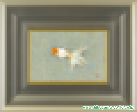 酒井一「金魚」日本画SM