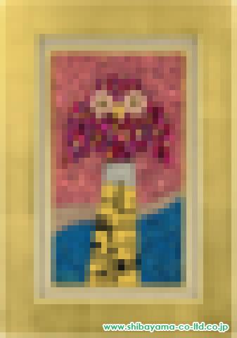 大西敦子「ふくろう」sアクリル・油彩M4号