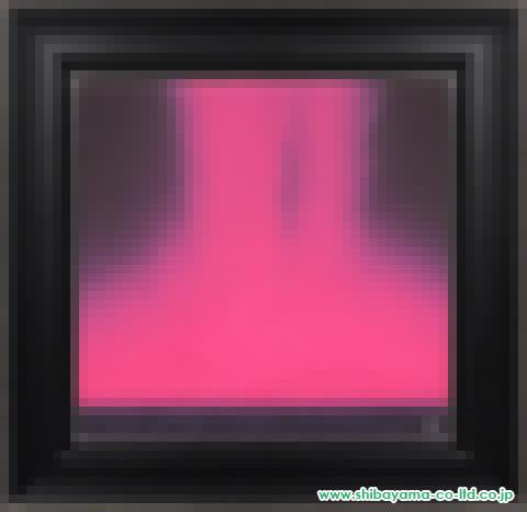 千住博「フォーリングカラー(赤)」s日本画10号S