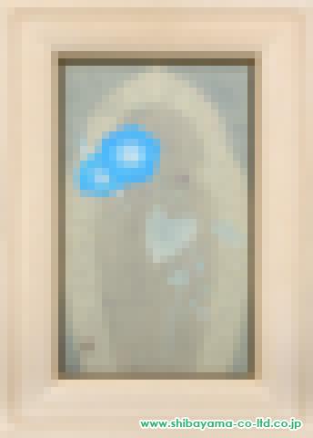 西嶋豊彦「華観音-朝顔-」s日本画M8号