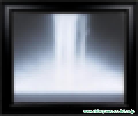 千住博「ウォーターフォール」s日本画30号
