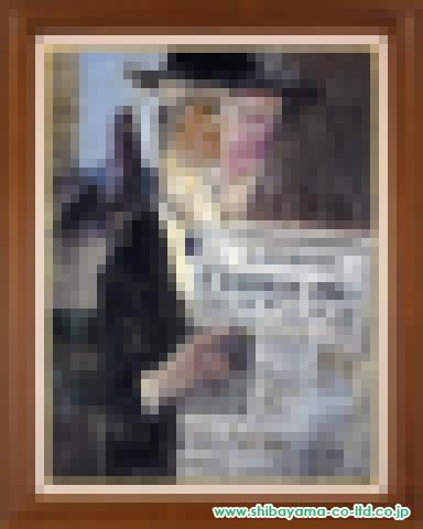 増田誠「ルクサンデル公園」s油彩P25号