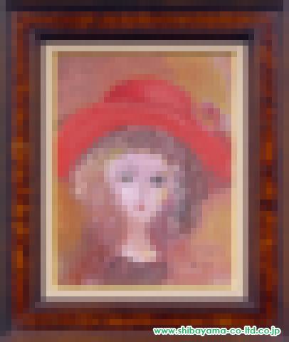 織田広喜「少女(赤い帽子2)」s