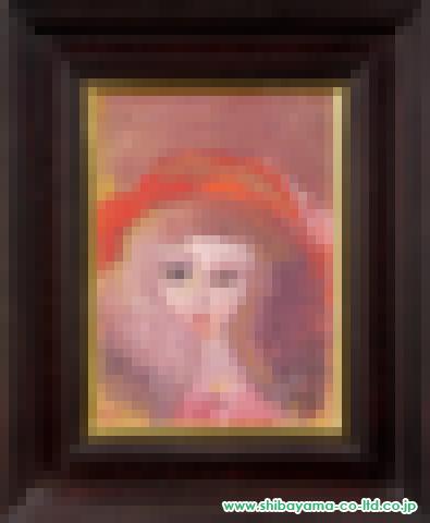 織田広喜「少女(赤い帽子5)」s