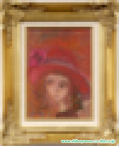 織田広喜「少女(赤い帽子6)」s