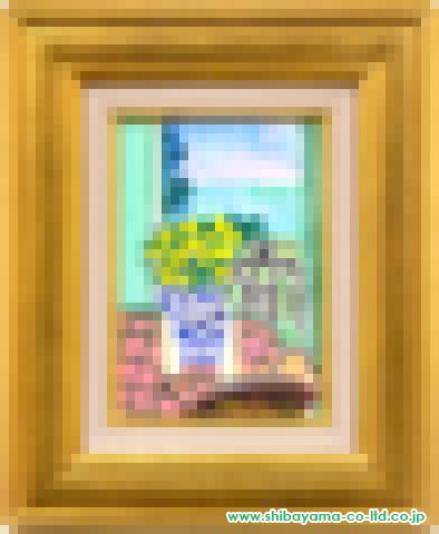 坂口紀良「ニースの窓辺」s