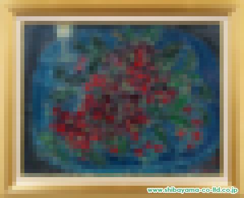 コタボ「さくらんぼ」M15号s油彩