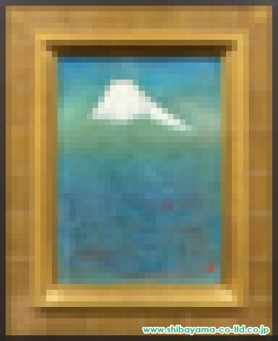 戸屋勝利「富士」s日本画4号