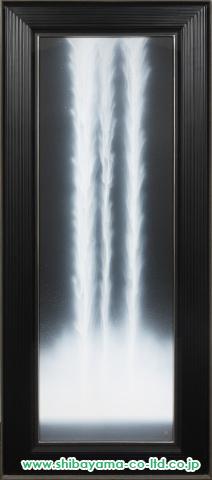 千住博「ウォータフォール」s日本画127×39