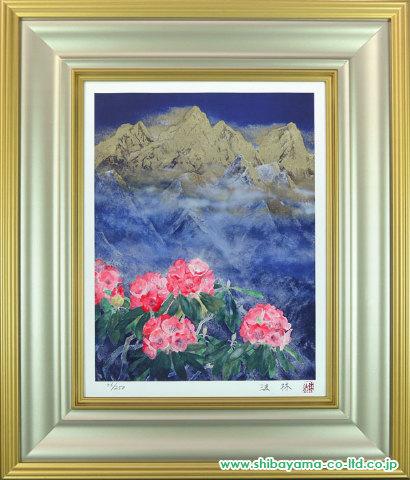 ヒマラヤの花(文化勲章受章記念)