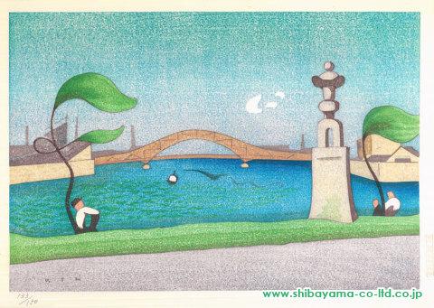 晩春永代橋